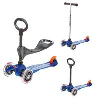 Lowest Price Ever! $91.99 Micro Mini 3-in-1 Kick Scooter, Blue