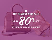 Up to 80% Off Handbag Thanksgiving Sale @ MYHABIT