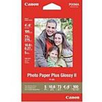 Buy 1 Get 9 Free on Canon Photo Paper Glossy II 4x6 (100 Sheets)