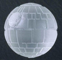 $2.00 2 Giant Star Wars Death Star Ice Cube Sphere Molds Trays