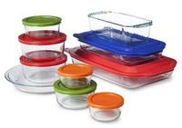 $18 + Free Shipping Pyrex Glass Ovenware Set