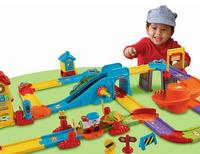 $25.00 VTech Go! Go! Smart Wheels Train Station Playset
