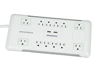 $19.99 12 Outlet Power Surge Protector w/ 2 Built-In USB Charger Ports - 4230 Joules