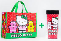 Free Hello Kitty Holiday Tote Bag and Tavel Mug with orders over $50 @ Sanrio