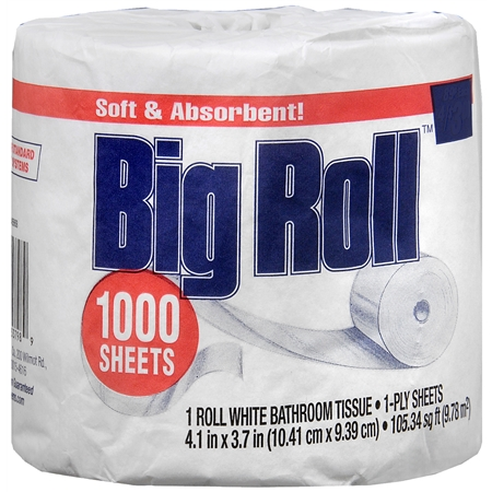 dealmoon big roll bathroom tissue 1000 sheets white
