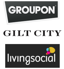 Local deals roundup offered by Groupon,Living Social, Gilt City