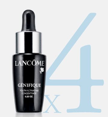 Free 4 Deluxe Genifique Samples + Free Shipping with orders over $49 @ Lancome