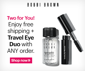 Free Best-Seller Eye Duo + Free Shipping @ Bobbi Brown Cosmetics