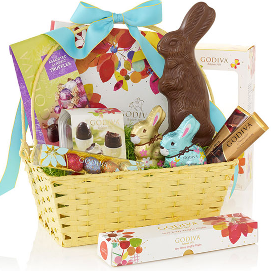 Up to 25% OFF Easter Gifts & Baskets @ Godiva