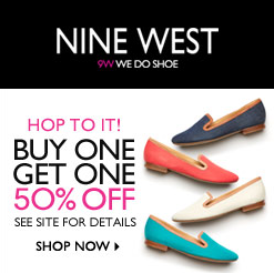 BOGO 50% OFF @ Nine West