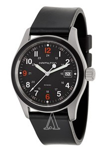 $165 Hamilton Men's Khaki Field Watch H68421333