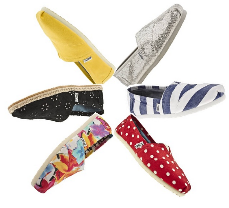 10% off any TOMS branded purchase @ TOMS