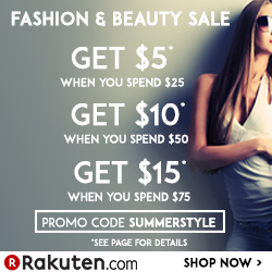 Up to $15 Back  With $75 or More @ Rakuten Buy.com