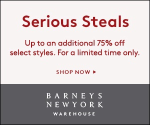 Up to extra 75% OFF End of Season Sale @ Barneys Warehouse