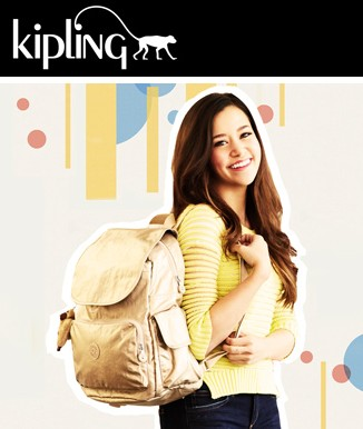 Up to 40% Off + Extra 20% Off Kipling Back to School Backpacks @ Macys.com