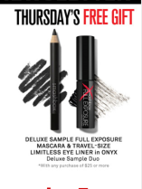 Free Travel-size Eye Set Duo  with Any $25 Purchase @Smashbox Cosmetics