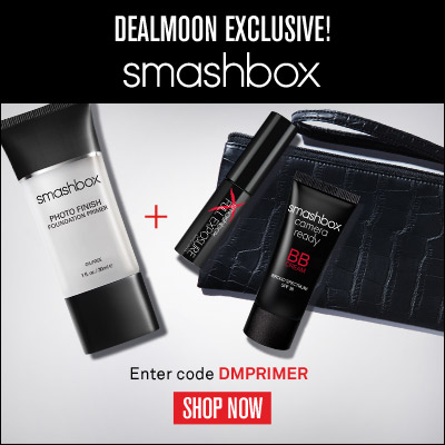 Dealmoon Exclusive! Free 3 Deluxe Samples with Award-Winning Photo Finish Foundation Primer Purchase @ Smashbox Cosmetics