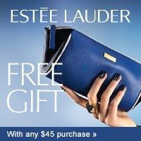 Free Cosmetic bag with gifts with any $45 purchase, Worth up to $145 @ esteelauder.com