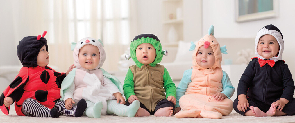 Up to 60% Off Select Halloween Baby Costumes,Tees, Sets and more @ Carter's