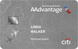 50,000 bonus miles after required spend Citi® Platinum Select® / AAdvantage® World MasterCard®