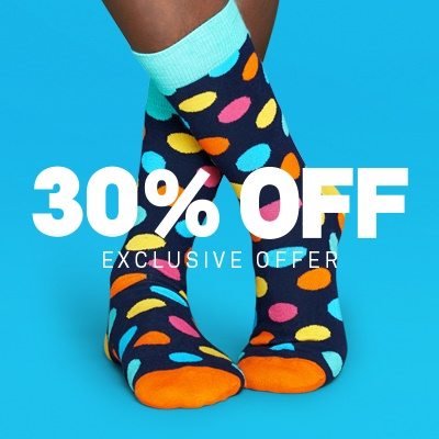 Dealmoon Exclusive! 30% Off Sitewide Sale @ Happy Socks